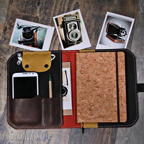 notesy notatnik, organizer, skórzany notes, kalendarz, prezent na każdą okazję, etui