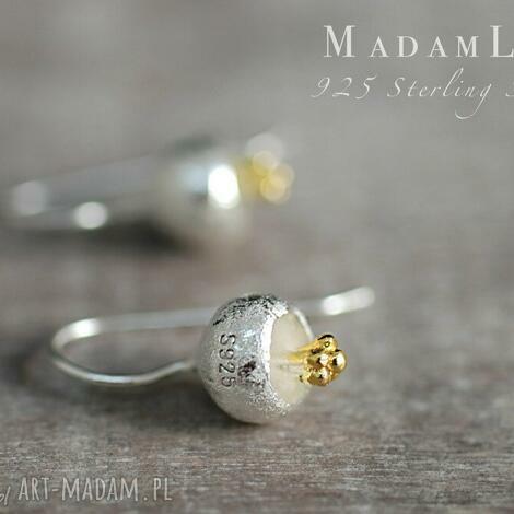 925 srebrne dzwoneczki kolczyki - kolczyki, dzwoneczek, kwiat, natura, berlin