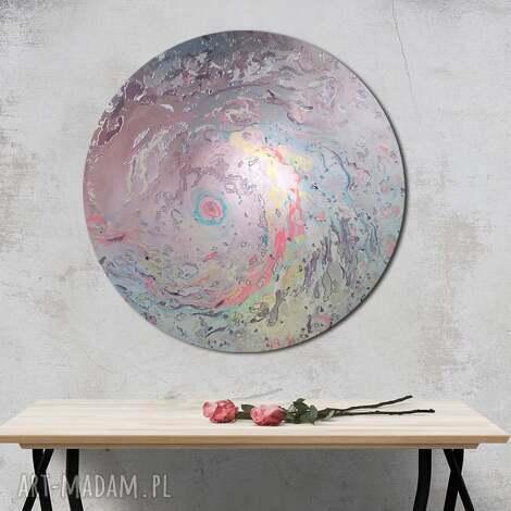 prezenty na święta, planeta 8, kosmos, niebo, okrągły obraz, księżyc, ziemia