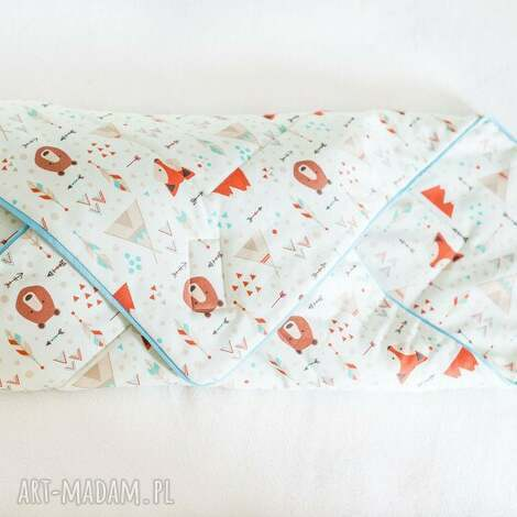 rożek niemowlęcy coramelli - rożek, becik, sen, kocyk, otulak, noworodek