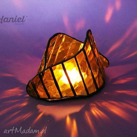 lampion symbiosis mały, lampion, witraż, świecznik, witrażowy, święta prezent