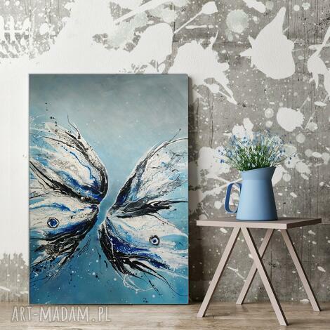 - butterfly obraz ręcznie malowany 100x80 cm, faktura 3d, motyl