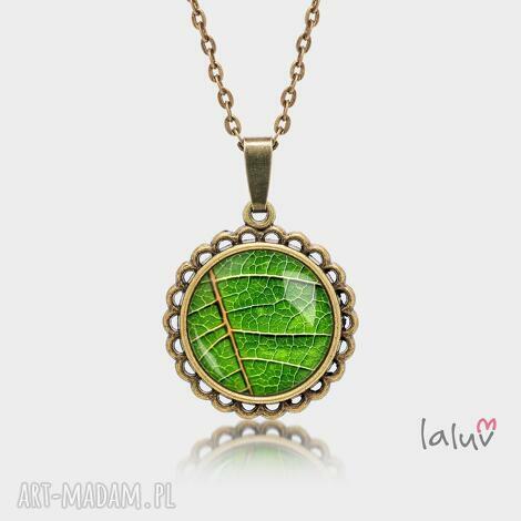 medalion okrągły mały liŚĆ - motyw, roslinny, drzewo, kwiaty, prezent