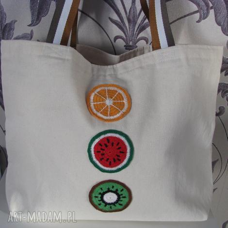 torba bawełniana, ekotorba, z owocami torbaeko, ecotorba, bag