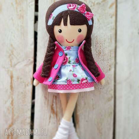 lalki malowana lala marcysia, lalka, przytulanka, niespodzianka, zabawka