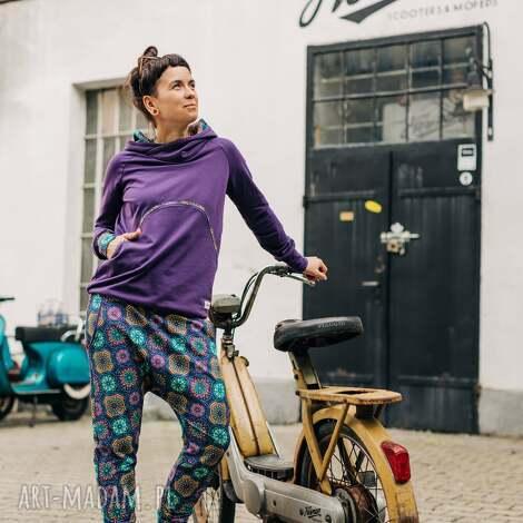 sportowe dres damski - ciao piccola, bluza z kapturem, bawełniana bluza, komplet