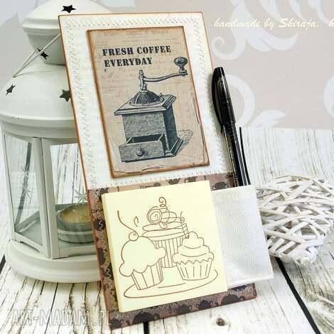 scrapbooking notesy notes na lodówkę - w kredensie babci, notes, lodówkę