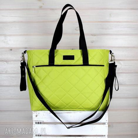 b42b9d127038e podróżne zielona torba weekendowa do wózka wodoodporna