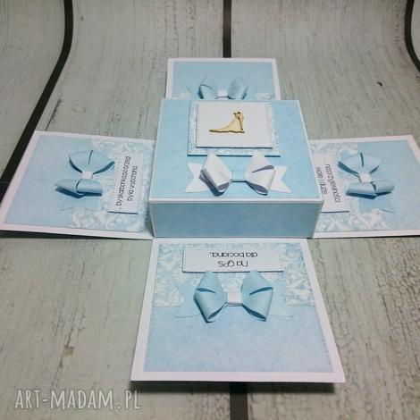 eleganckie ślubne eksplodujące pudełeczko, telegram, pudełko, ślub, serenity