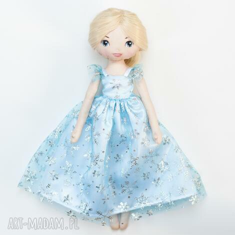 lodowa księżniczka - lalka jak elsa z krainy lodu, elsa, kraina
