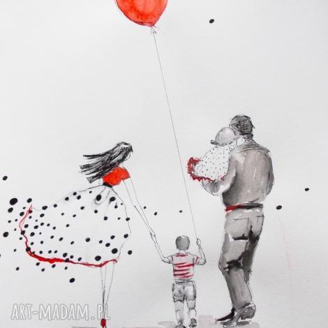 wspÓlnie przez Świat 2akwarela artystki plastyka adriany laube - akwarela