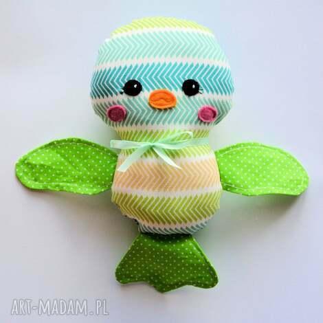 ptaszek ćwirek wojtek - ptaszek, dziecko, maskotka, zabawka, kolorowa, wesoła