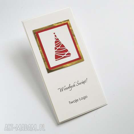 kartki firmowe z twoim logo, świąteczne, bożonarodzeniowe