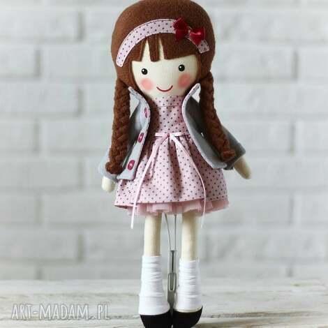 malowana lala amelia, lalka, zabawka, przytulanka, prezent, dziecko, tiul