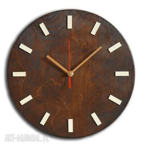 zamówienie specjalne - scandi clock wenge 40 cm, zegar, scandi