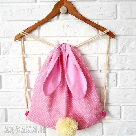 musslico plecak worek - króliczek, plecak, worek, przedszkolak, torba, króliczek