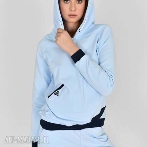 bluza kamila niebieska, bluza, marynarka, t shirt, sukienka, spódnica, komplet