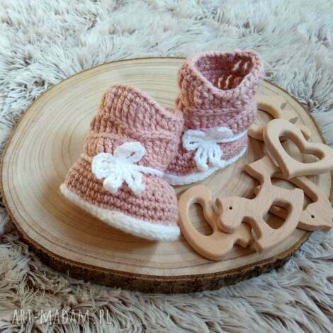 kozaczki madison, kozaczki, buciki, wełniane, prezent, dla dziecka, niemowlęce