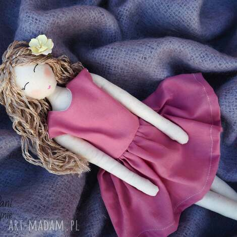 unikalny prezent, lalki lalka #112, lalka, szmacianka, przytulanka, bawełna, tilda