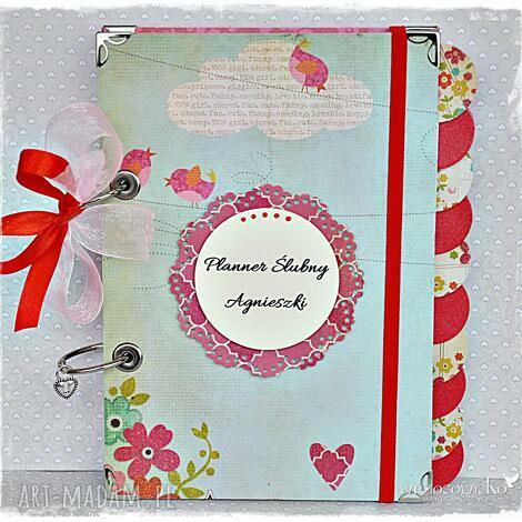 planner ślubny imienny, planner, ślubny, ślub, notatnik, personalizacja, prezent