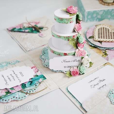 Ślubny exploding-box - exploding box, prezent ślubny, kartka, ślub, wesele