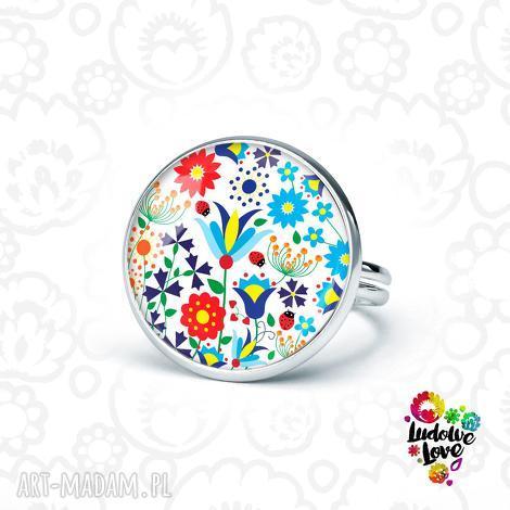 pierścionek kaszubski, folk, folklor, polskie, wzory, ludowe, prezent