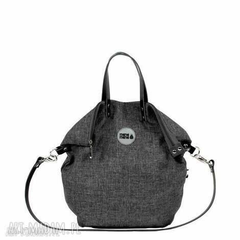 5cfd6e85a1756 plecak torba 2 in1 city grafit, torba, plecak, podróż, zakupy, manamana