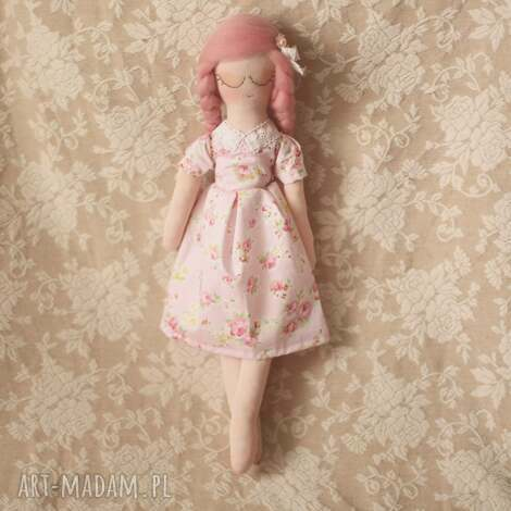 kwiatowa bajka - lalka różyczka, dla dziecka