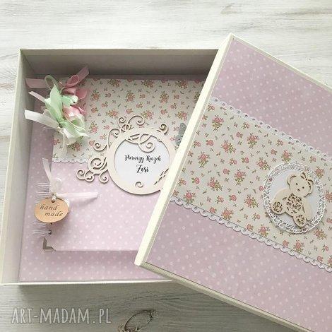 scrapbooking albumy album w pudełku, album, chrzest, roczek, prezent