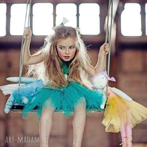 morskozielona sukienka tiulowa tutu, balet, balerina, paczka, taniec, tiul dla