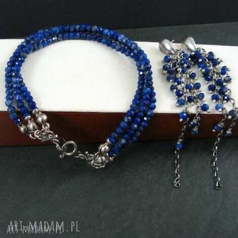 lapis lazuli - lapis, lazuli, trzyrzędowa