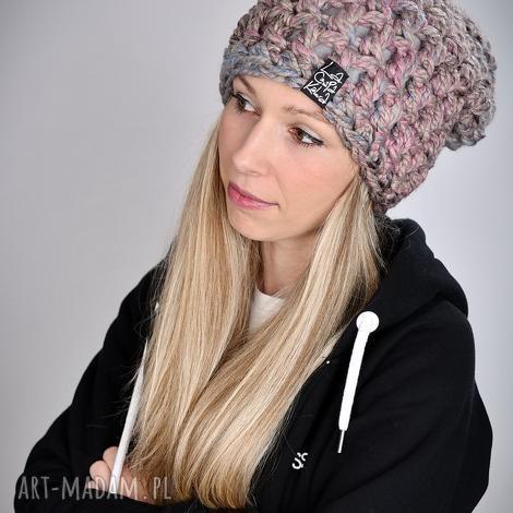 czapka fatty 27, czapka zimowa, czapki na zimę, na prezent, gruba