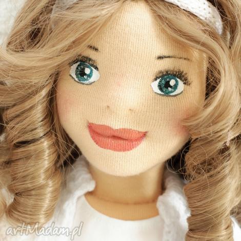 lalka ręcznie szyta matylda, lalka, handmade, rękodzieło, prezent, wystrój, szyta