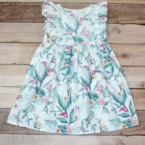 sukienkasummer angel, letnia sukienka, sukienka dla dziewczynki, lalka