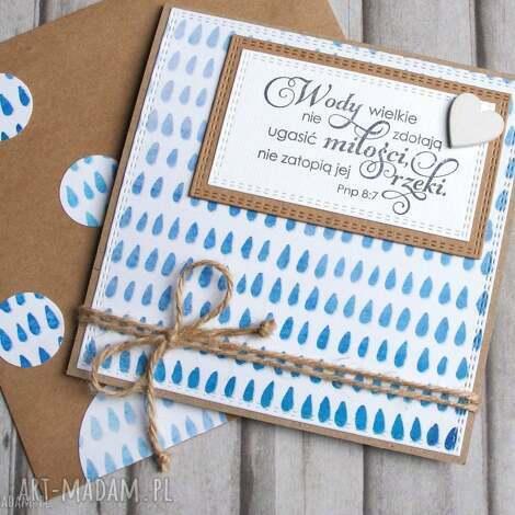 kartki kartka ślubna wody wielkie i, cytat, ślub