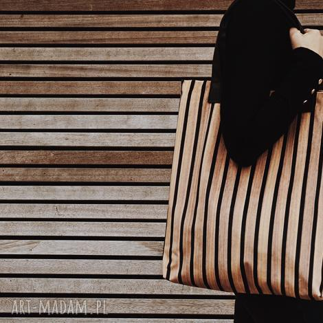 na ramię torba mr m deski/ uszy skóra naturalna, print, drukowana, deski, drewno