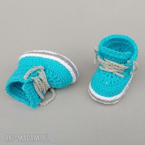 buciki trampki stanford, dziecięce, buciki, trampki, prezent, bawełniane, narodziny