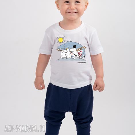 licencjonowana koszulka dziecięca muminki ryba, dladzieci, muminki, wakacje