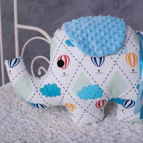 poduszka dziecięca słonik, słoń, fajny prezent, przytulanka