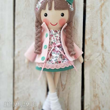 malowana lala lena, lalka, przytulanka, niespodzianka, zabawka, prezent
