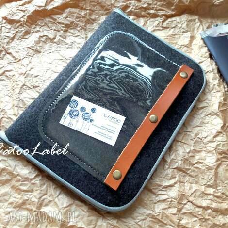 organizer tablet notatki, organizer, filcowy, prezent, etui, tablet, catoo