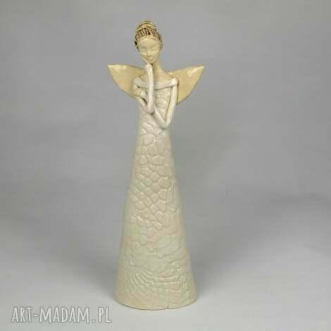 ceramika anioł ceramiczny, anioł, ręcznie-wykonany dom