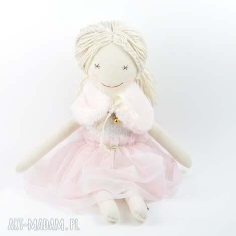 przytullale lalka szmaciana helenka w różowej tiulowej sukience, dziecko, dziewczynka
