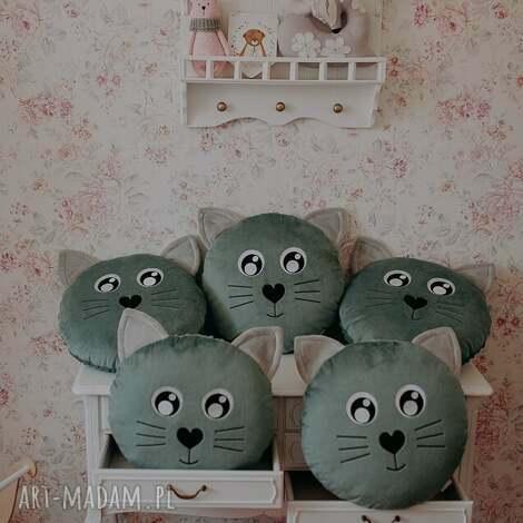 poduszka kotek jadeit - przytulanka, pokój dziecka, kot, dekoracja