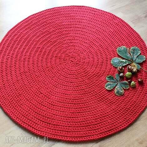 dywany dywan red energy, dywan, dywanik, chodnik, bawełna, handmade dom