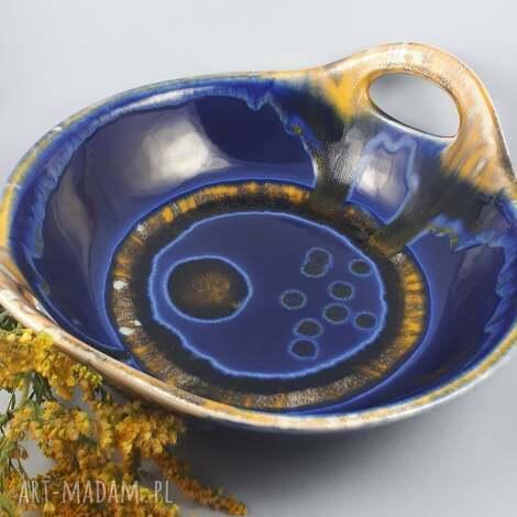 misa z uszami archipelag, ceramika bolesławiec, prezent upominek, patera