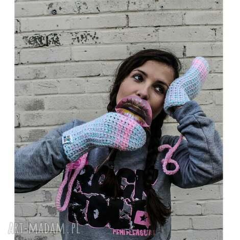 rękawiczki mode 2 - handmade, zima, rękawiczki, rekawiczki, braininside