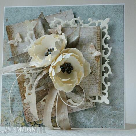 z życzeniami - w pudełku - ślub, życzenia, gratulacje