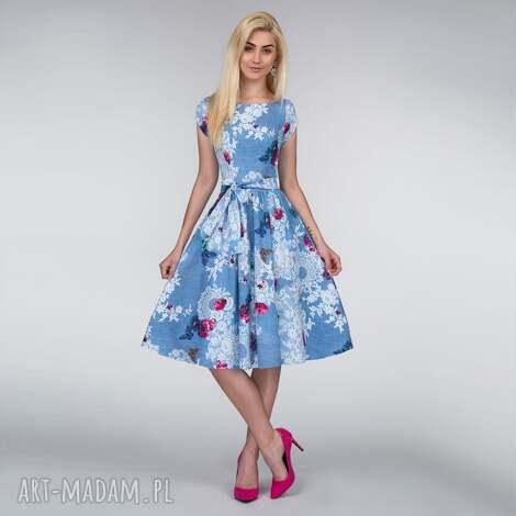 sukienki sukienka marie midi bonita, na wesele