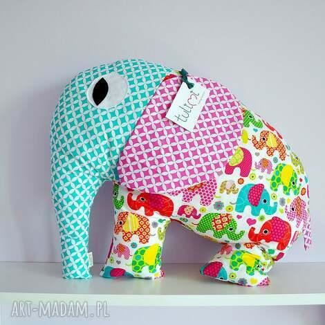 dla dziecka duża poduszka przytulanka słonik od tulimi, poduszka